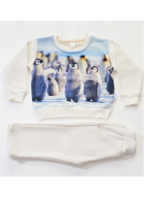Petitsomething Pijama Takım Krem